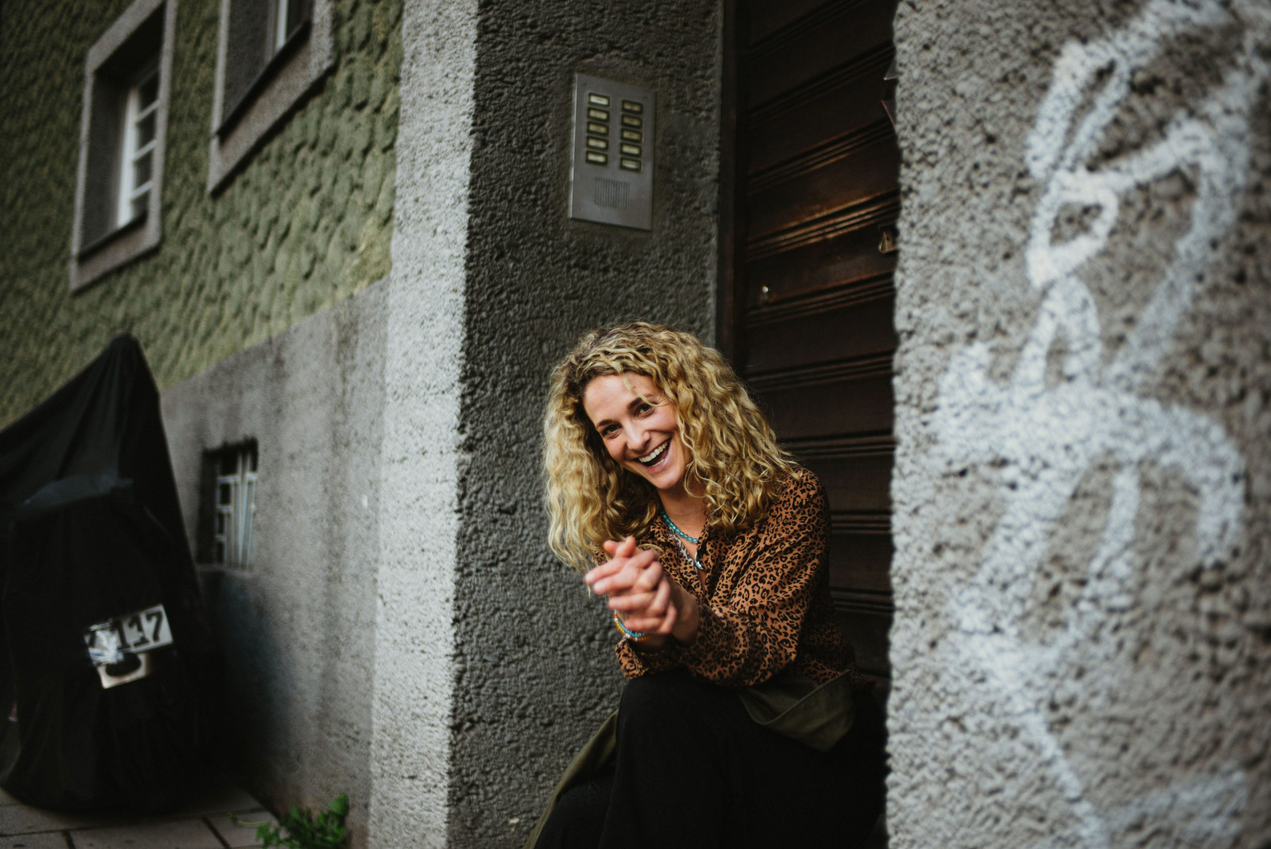 Portrait Schauspielerin Lea Wegmann